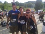 Colin, Nat and Lhara: Warrior Dash